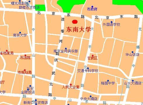 四牌楼街道地图